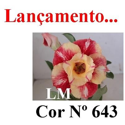 Cor Nº 643 LM Lançamento